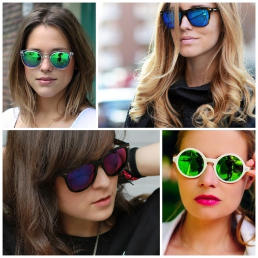 TRENDSPOTTING MIRRORED SUNGLASSES