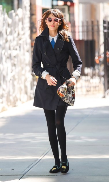 Alexa Chung Out And About In NYC